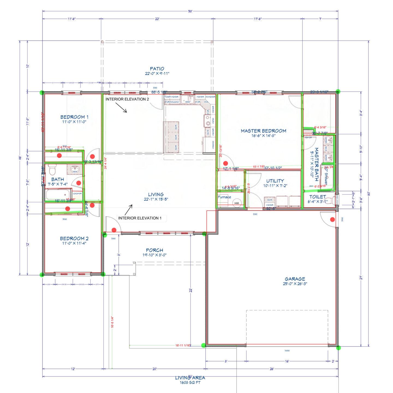 2021 PLANS M3 Lacy Homes Lexington 2