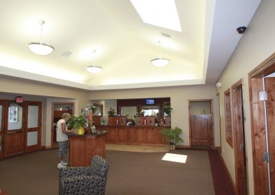 Archer Credit Union Lobby 1