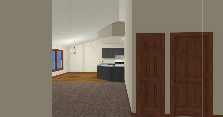 M2 Interior Elevation 3